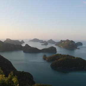 Mu Angthong Marine Park,Thailand.