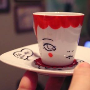 Hello, lets have a cup ofcoffee!