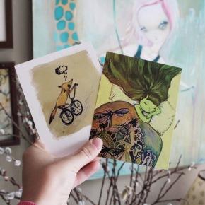 Peddle & Dream Post Cardset