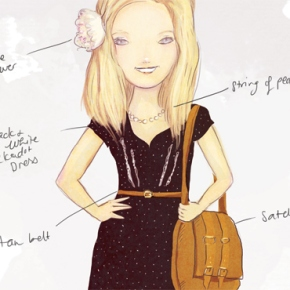What You Wore Custom illustration: MrsQ