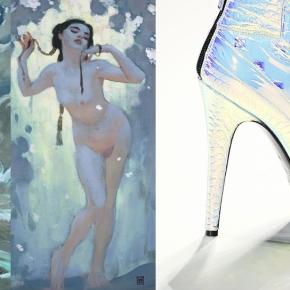 Fashion vs Illustration : John Watkiss andBlumarine
