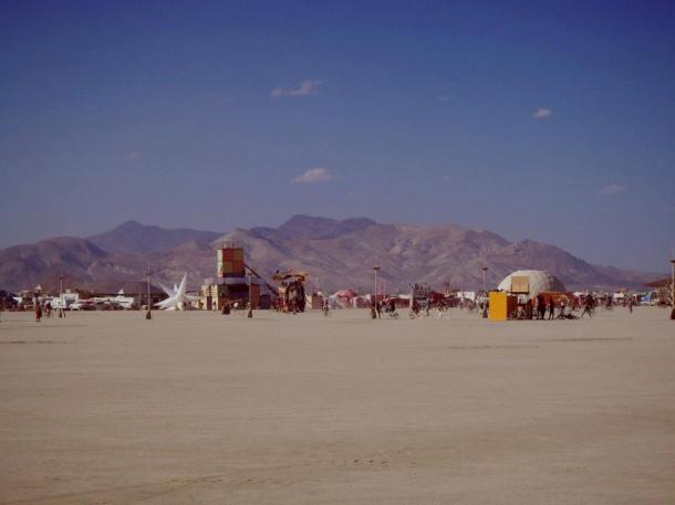 Burning man 2012 playa