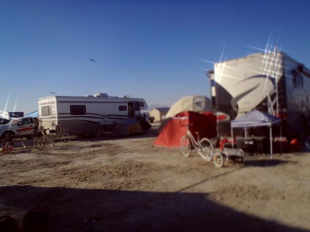Burning man 2012 rv