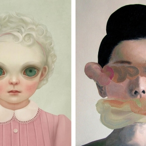 Illustration + Art Inspiration: Portraits